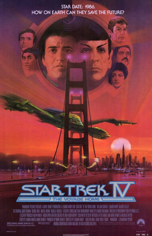 Star Trek 4: The Voyage Home 11 x 17 Movie Poster - Style A - Museum Wrapped Canvas