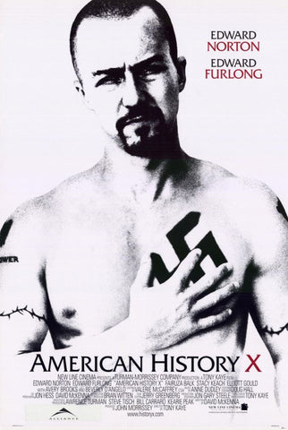 American History X 11 x 17 Movie Poster - Style A - Museum Wrapped Canvas