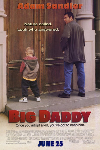Big Daddy 11 x 17 Movie Poster - Style A - Museum Wrapped Canvas