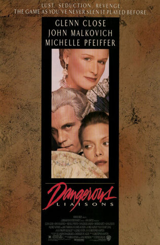 Dangerous Liaisons 11 x 17 Movie Poster - Style A - Museum Wrapped Canvas