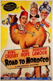 Road to Morocco 11 x 17 Movie Poster - Style A - Museum Wrapped Canvas