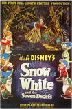 Snow White and the Seven Dwarfs 11 x 17 Movie Poster - Style AA - Museum Wrapped Canvas