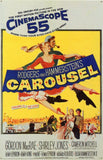 Carousel 11 x 17 Movie Poster - Style B - Museum Wrapped Canvas