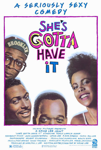 She's Gotta Have It 11 x 17 Movie Poster - Style A - Museum Wrapped Canvas