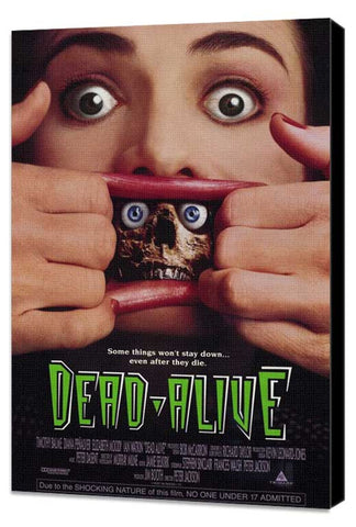 Dead Alive 11 x 17 Movie Poster - Style A - Museum Wrapped Canvas