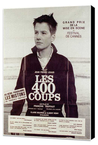 400 Blows 11 x 17 Poster - Foreign - Style C - Museum Wrapped Canvas