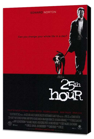 25th Hour 11 x 17 Movie Poster - Style A - Museum Wrapped Canvas