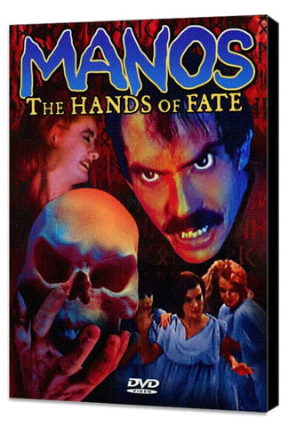 'Manos' the Hands of Fate 11 x 17 Movie Poster - Style A - Museum Wrapped Canvas