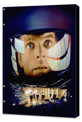 2001: A Space Odyssey 11 x 17 Movie Poster - Style K - Museum Wrapped Canvas
