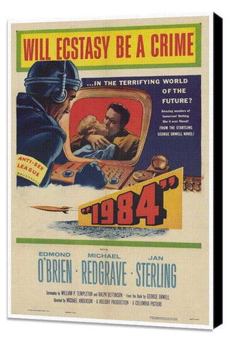 1984 27 x 40 Movie Poster - Style A - Museum Wrapped Canvas