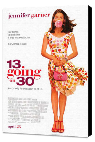 13 Going On 30 27 x 40 Movie Poster - Style A - Museum Wrapped Canvas