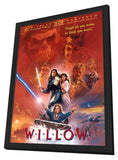 Willow 11 x 17 Movie Poster - Style D - in Deluxe Wood Frame