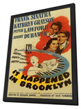 It Happened in Brooklyn 11 x 17 Movie Poster - Style A - in Deluxe Wood Frame