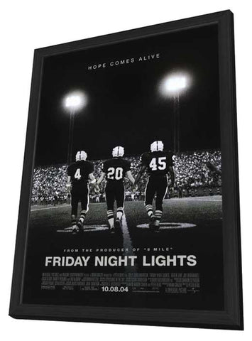 Friday Night Lights 11 x 17 Movie Poster - Style B - in Deluxe Wood Frame