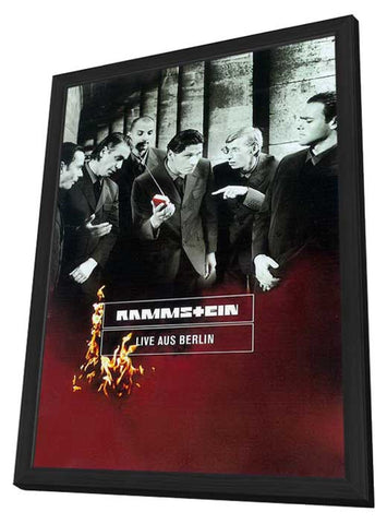 Rammstein: Live aus Berlin 11 x 17 Movie Poster - German Style A - in Deluxe Wood Frame