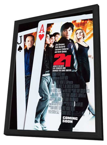 21 11 x 17 Movie Poster - Style B - in Deluxe Wood Frame