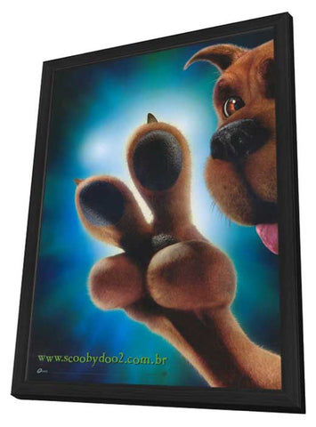 Scooby-Doo 2: Monsters Unleashed 11 x 17 Movie Poster - Brazilian Style B - in Deluxe Wood Frame