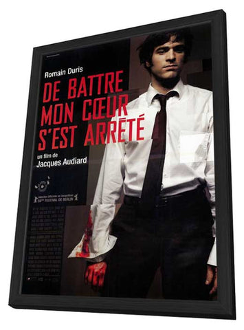 The Beat That My Heart Skipped 11 x 17 Movie Poster - French Style A - in Deluxe Wood Frame
