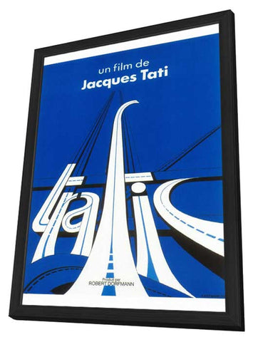 Traffic 11 x 17 Movie Poster - French Style A - in Deluxe Wood Frame