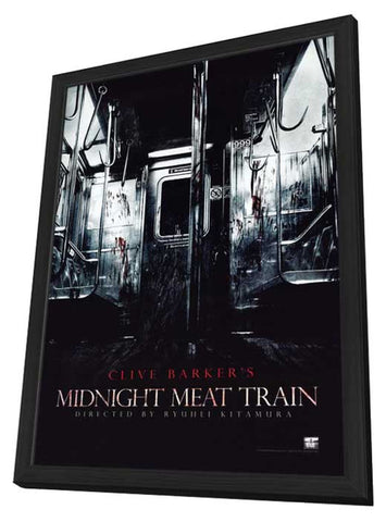 The Midnight Meat Train 11 x 17 Movie Poster - Style A - in Deluxe Wood Frame