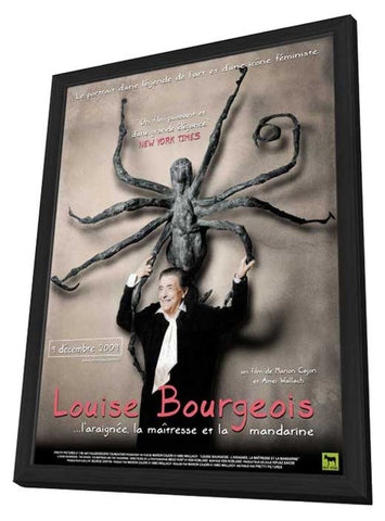 Louise Bourgeois: The Spider, the Mistress and the Tangerine 11 x 17 Movie Poster - French Style A - in Deluxe Wood Frame