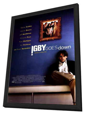 Igby Goes Down 11 x 17 Movie Poster - Style A - in Deluxe Wood Frame
