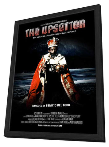 The Upsetter: The Life and Music of Lee Scratch Perry 11 x 17 Movie Poster - Style A - in Deluxe Wood Frame