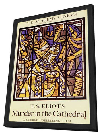 Murder in the Cathedral 11 x 17 Poster - Foreign - Style A - in Deluxe Wood Frame