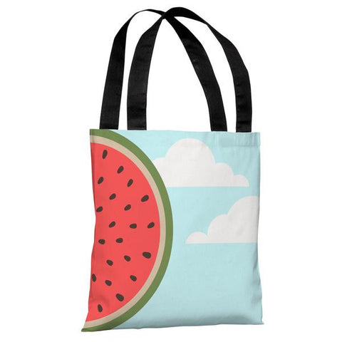 Sky Melon - Blue Multi Tote Bag by