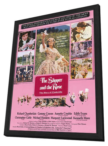 The Slipper and the Rose 11 x 17 Movie Poster - Style A - in Deluxe Wood Frame