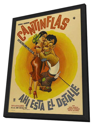 Here Is the Point 11 x 17 Movie Poster - Mexican Style A - in Deluxe Wood Frame