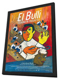 El Bulli: Cooking in Progress 11 x 17 Movie Poster - German Style A - in Deluxe Wood Frame