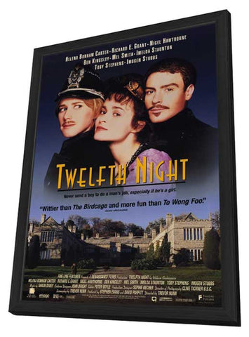 Twelfth Night 11 x 17 Movie Poster - Style A - in Deluxe Wood Frame