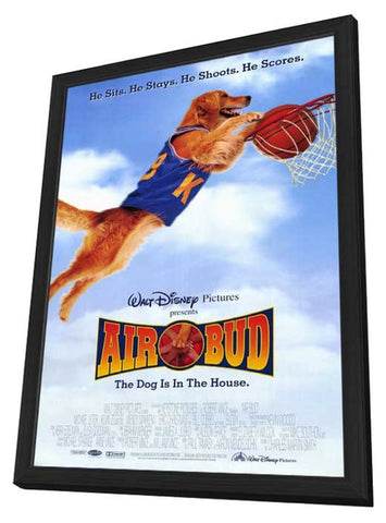 Air Bud: Golden Receiver 11 x 17 Movie Poster - Style A - in Deluxe Wood Frame