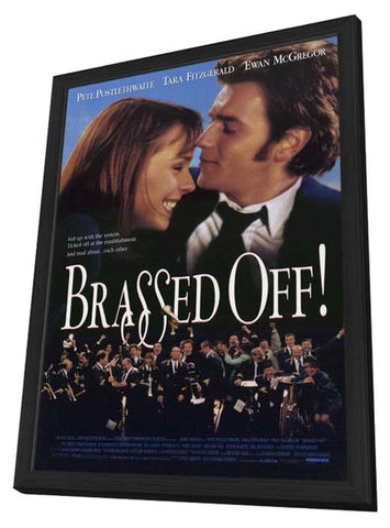 Brassed Off 11 x 17 Movie Poster - Style A - in Deluxe Wood Frame