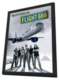 Iron Maiden: Flight 666 11 x 17 Movie Poster - UK Style A - in Deluxe Wood Frame