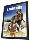 Land of the Lost 11 x 17 Movie Poster - UK Style A - in Deluxe Wood Frame