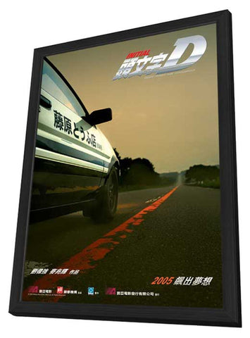 Initial D 11 x 17 Movie Poster - Hong Kong Style A - in Deluxe Wood Frame