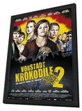 Vorstadtkrokodile 2 11 x 17 Movie Poster - German Style A - in Deluxe Wood Frame