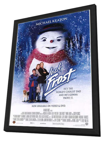 Jack Frost 11 x 17 Movie Poster - Style B - in Deluxe Wood Frame