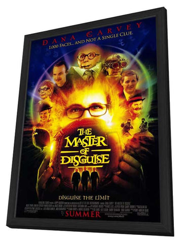 Master of Disguise 11 x 17 Movie Poster - Style A - in Deluxe Wood Frame