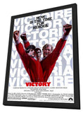 Victory 11 x 17 Movie Poster - Style A - in Deluxe Wood Frame