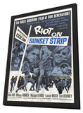 Riot on Sunset Strip 11 x 17 Movie Poster - Style A - in Deluxe Wood Frame