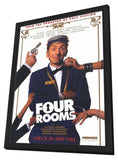 Four Rooms 11 x 17 Movie Poster - Style B - in Deluxe Wood Frame