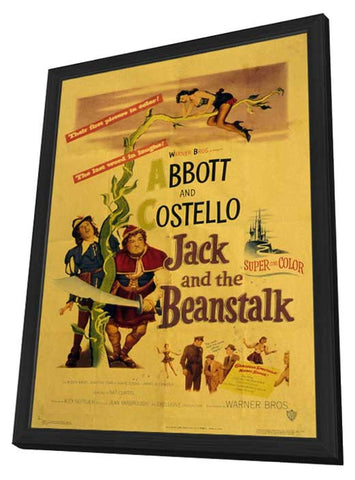 Jack and the Beanstalk 11 x 17 Movie Poster - Style A - in Deluxe Wood Frame