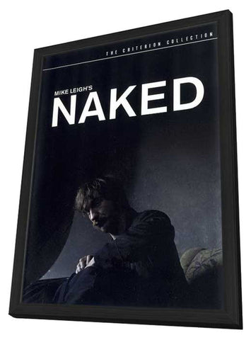 Naked 11 x 17 Movie Poster - Style B - in Deluxe Wood Frame