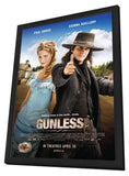 Gunless 11 x 17 Movie Poster - Canadian Style A - in Deluxe Wood Frame