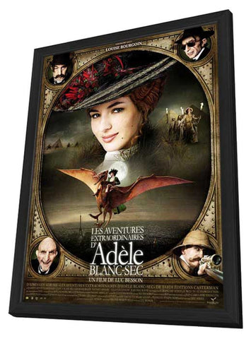The Extraordinary Adventures of Adele Blanc-Sec 11 x 17 Movie Poster - French Style E - in Deluxe Wood Frame