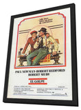 The Sting 11 x 17 Movie Poster - Spanish Style B - in Deluxe Wood Frame
