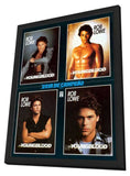 Youngblood 11 x 17 Movie Poster - Brazilian Style A - in Deluxe Wood Frame